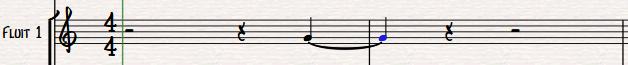 dorico-kwartnoot